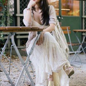 Dresses & Skirts - Pre loved, gorgeous boho maxi w/ spaghetti straps